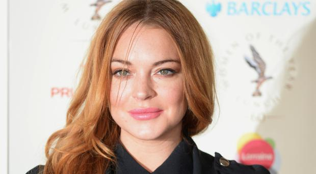 Lindsay Lohan tweeted, suggesting she had no idea where Kettering is