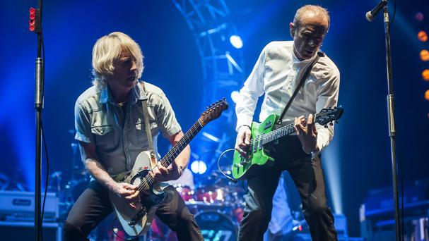 Rick Parfitt (left) has been suffering with heart problems