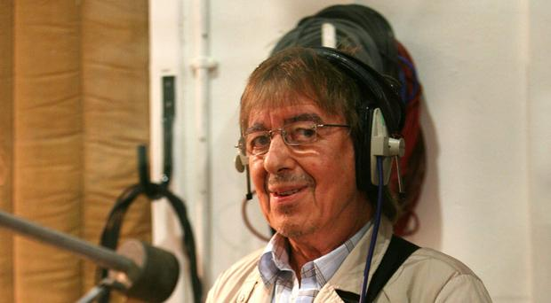Former Rolling Stones bass player Bill Wyman