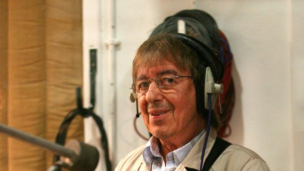 Former Rolling Stones bass player Bill Wyman was presented with the BluesFest Lifetime Achievement Award