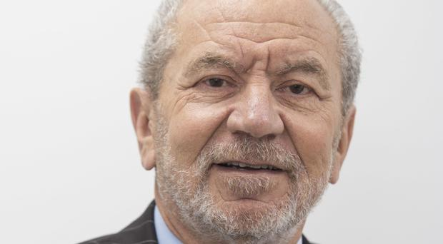 Lord Sugar made the surprise announcement
