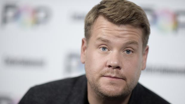 James Corden attends the 2016 Entertainment Weekly's Popfest in Los Angeles (AP)