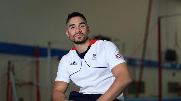 Louis Smith has been given a two-month ban from gymnastics after appearing to mock Islam