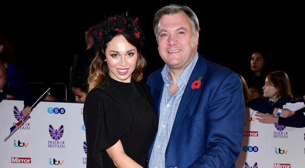 Strictly partners Ed Balls and Katya Jones