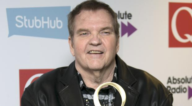 The Bat Out Of Hell singer was handed the Hero Award at the ceremony in north London