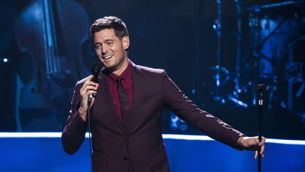 Canadian singer Michael Buble is a brand ambassador for luxury watchmaker Rolex