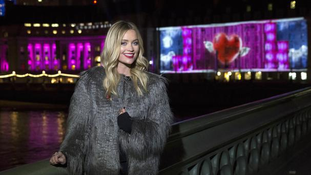 Laura Whitmore topped the judges' leader board last week with a passionate tango with partner Giovanni Pernice