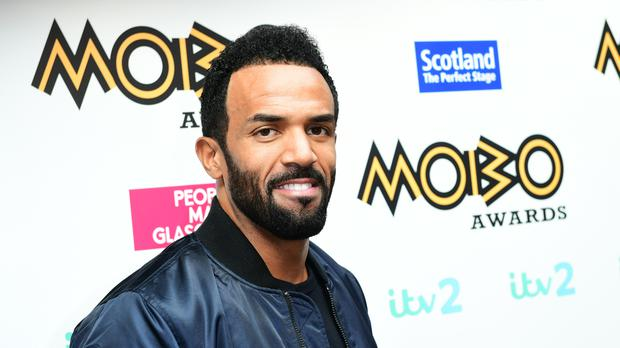 Craig David is up for the best male and best song gongs at the Mobo Awards