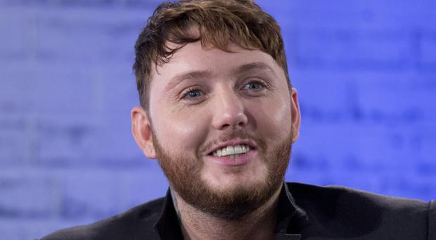 James Arthur has hit number one in the album charts for the first time