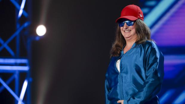 X Factor contestant Honey G who was praised by Simon Cowell.