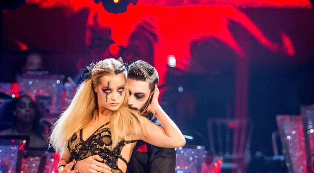 Laura Whitmore has been voted off Strictly.