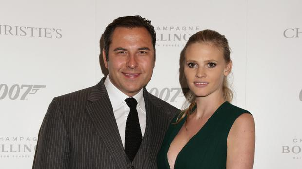 David Walliams and Lara Stone married in a ceremony at Claridge's hotel in 2010
