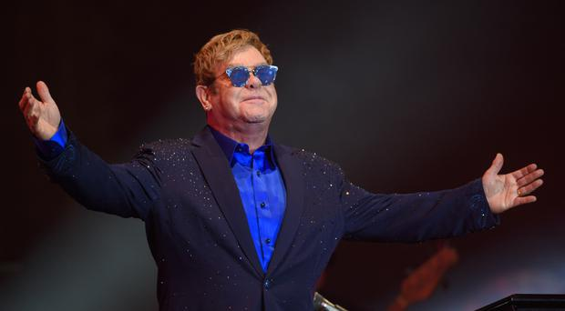 Sir Elton John unveils some of the treasures from his 8,000-strong photography collection at a new exhibition at Tate Modern