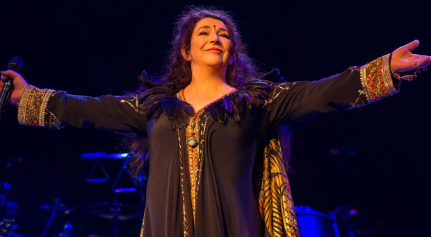 Kate Bush at one of her acclaimed live shows in London in 2014