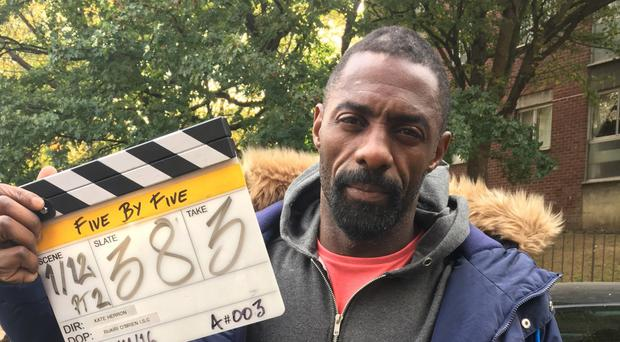Idris Elba will appear in the collection of five-minute long shorts entitled Five by Five