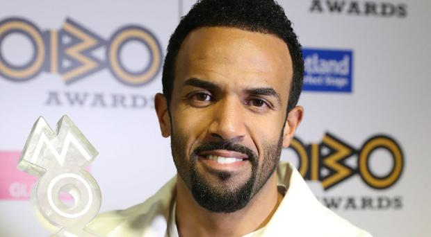 Last week Craig David won best male singer at the 21st Mobo Awards.