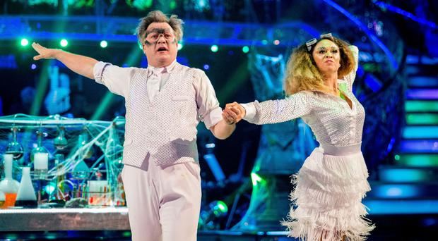 Ed Balls has become the people's favourite in this year's Strictly Come Dancing (BBC/PA)