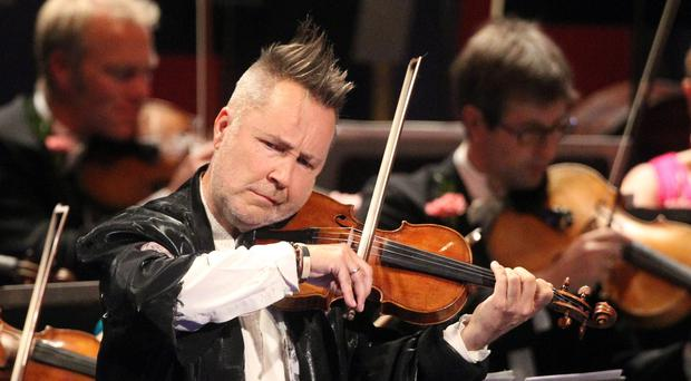 Nigel Kennedy also took aim at The X Factor