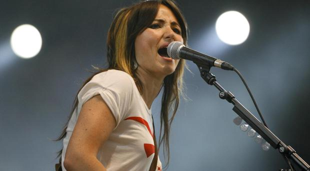 KT Tunstall said she hoped the record 'galvanises people' in a 'divided world'