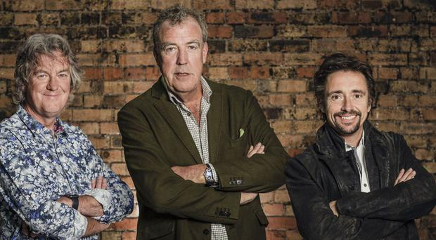 James May, Jeremy Clarkson and Richard Hammond, The Grand Tour (PA/Amazon)