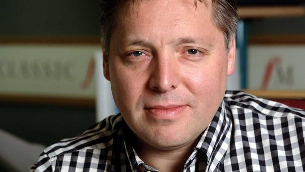DJ Mark Goodier is the voice of the Now series of compilations.