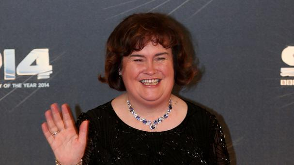 Susan Boyle has been talking about her new album