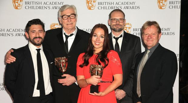 The Horrible Histories team takes home another award