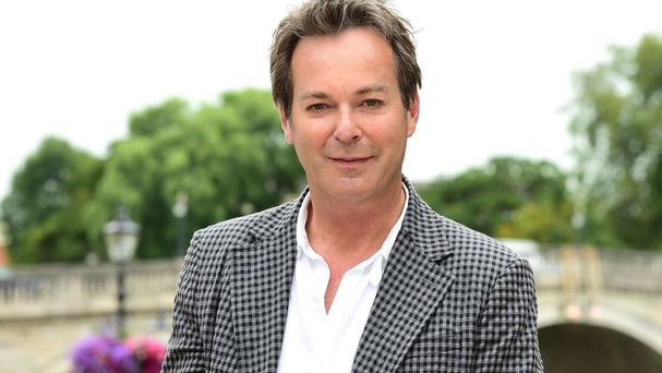 Julian Clary announced his wedding on Twitter.