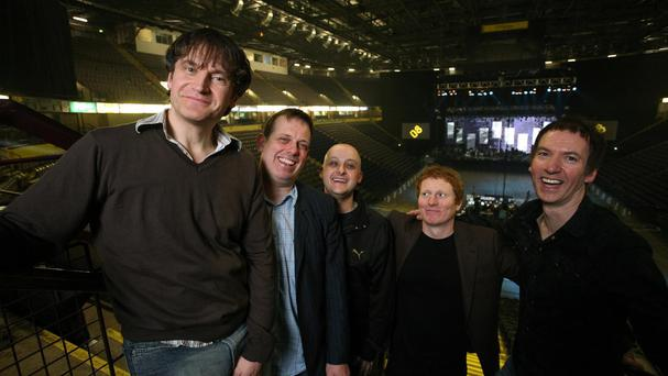 The Inspiral Carpets were one of the leading Madchester bands