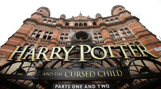 The West End production of Harry Potter and The Cursed Child was named best play at the Evening Standard Theatre Awards