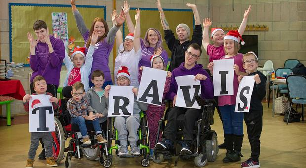SBH Scotland shows their support for Travis (SBH Scotland/PA Wire)