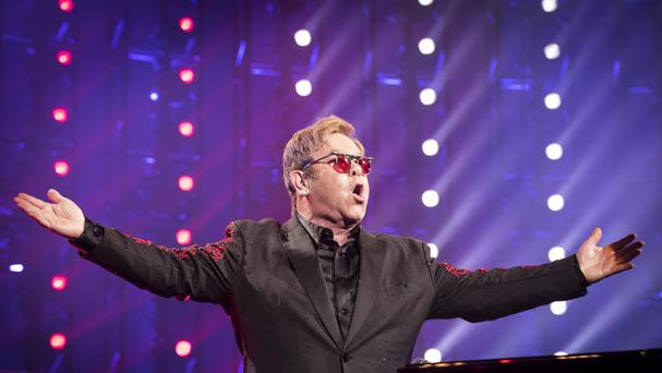 Sir Elton John helped campaign for Hillary Clinton