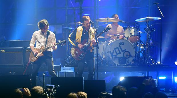 Kings Of Leon will perform at the Hyde Park festival