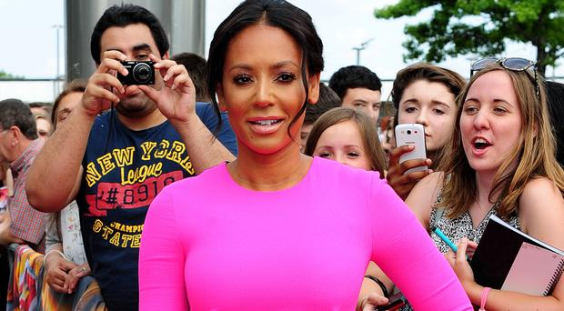 Mel B posted footage of a man appearing to remove cases from her car in Beverly Hills