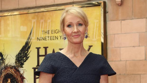 JK Rowling sent an e-book to the seven-year-old after her mother messaged asking how her daughter could get hold of the Harry Potter novels
