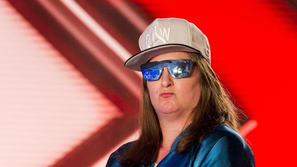 Honey G, aka Anna Georgette Guilford (Syco/Thames TV)