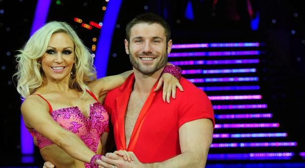 Ben Cohen and Kristina Rihanoff met on Strictly