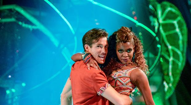 Danny Mac and his partner Oti Mabuse will perform a tango to One Night Only from Dreamgirls (BBC/PA)