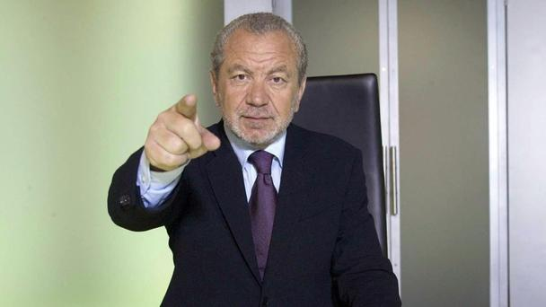 Lord Sugar went for another double firing in The Apprentice (BBC/PA)