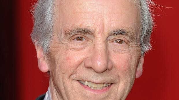Andrew Sachs arriving for the 2009 British Soap Awards