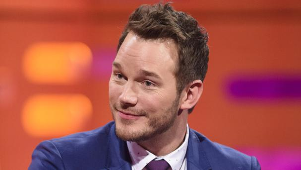 Chris Pratt appeared on the Graham Norton Show