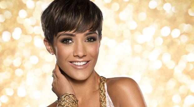 Frankie Bridge was runner-up on Strictly in 2014