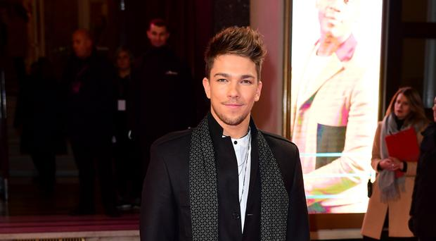 X Factor contestant Matt Terry, who criticised as bland by Simon Cowell during Saturday's performance.
