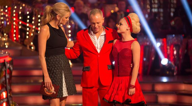 Judge Robert Rinder waves goodbye to Strictly Come Dancing