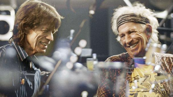 Sir Mick Jagger and Keith Richards could soon be celebrating as the latest Rolling Stones album heads for the top of the charts