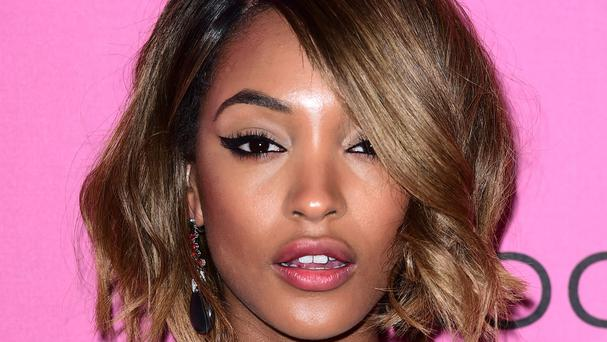 Jourdan Dunn told the Press Association she watches The X Factor with her young son Riley