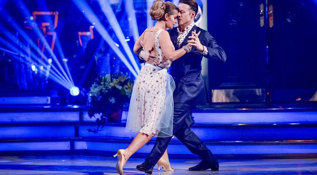 Louise Redknapp and Kevin Clifton will be dancing a tango to Glad All Over