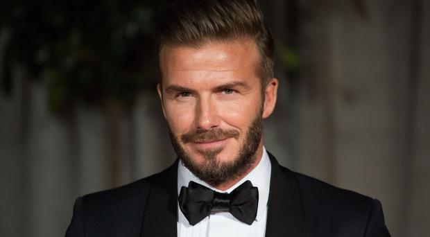 David Beckham said he was 'really proud' of 11-year-old Cruz