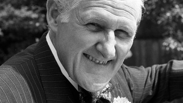 Peter Vaughan combined comedy and menace in Porridge