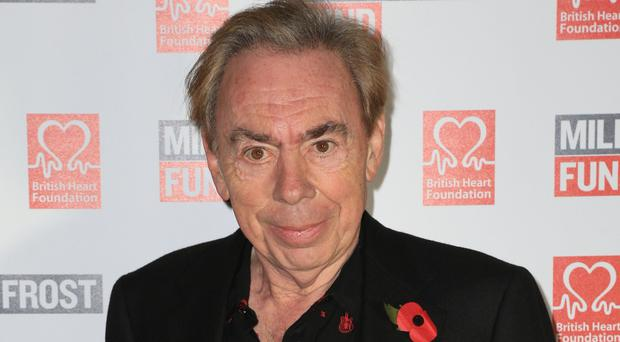 Andrew Lloyd Webber said schools can perform School Of Rock while it continues to be played on stage